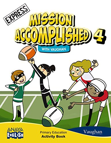 Mission Accomplished 4. Express. Activity Book (+ CD) por Vaughan Systems