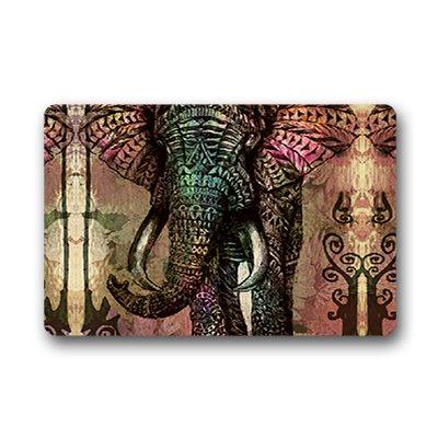 "Dalliy Elefante africano Zerbino Personalizzato Doormat 18""x30"" about 46cmx76cm"