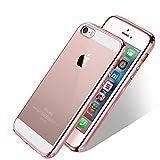 WELKOO Coque iPhone 5/ 5s/ Se Coque iPhone 5s en Silicone, Housse iphone 5 en...
