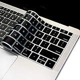 Se7enline - Carcasa para MacBook Pro 13' 15' y 17' con Pantalla Retina y MacBook Air de 13 Pulgadas, Color Dorado Negro Negro 13'' New Macbook Air A1932 (US Version)