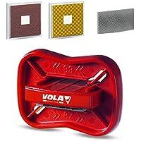 VOLA 011008–Afilador de Bolsillo para esquí Unisex para Adulto, Color Negro