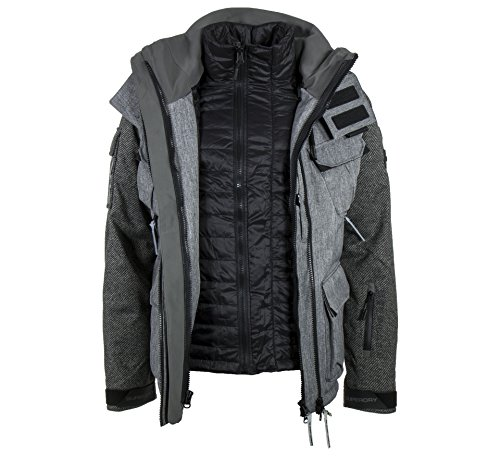 Superdry Ultimate Lux Snow Multi 3 in 1 Jacket