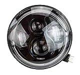 7' Zoll - 178 mm LED Scheinwerfer rund zugelassen mit E-Nummer