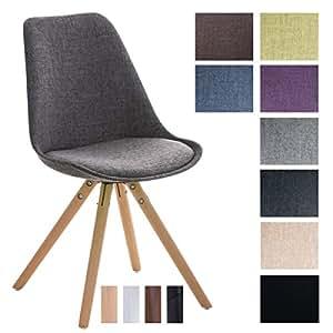 Clp sedia visitatore pegleg in tessuto sedia design for Sedia design amazon