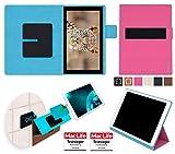 reboon Hülle für Blaupunkt Endeavour 101G Tasche Cover Case Bumper | in Pink | Testsieger