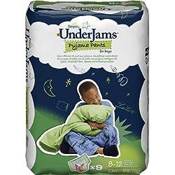 Pampers - Pyjama Pants - Pañales para niños (2 - 12 años) - 4 x 9 pañales