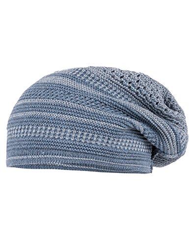 maximo Beanie Middle, Bonnet Fille Blau (Blau (bluemeliert/wollweiss 6338) 6338)
