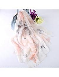 Mantón largo pañuelo de seda pañuelo de seda de morera de invierno primavera y otoño Cabo femenino las mujeres…