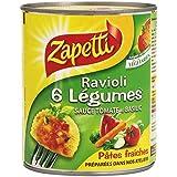 Zapetti Ravioli 6 Légumes 800 g