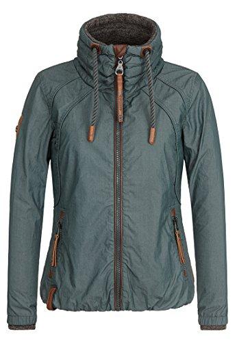 Naketano Female Jacket Tittis Galore Dark Green, XL