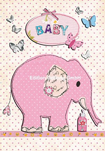 carte-de-felicitations-pour-la-naissance-carola-pabst-elephant-rose