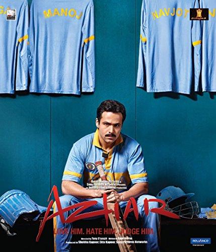 AZHAR Blu-Ray (Hindi mit englischem Untertitel) - 2016 - India - Bollywood - Emraan Hashmi, Nargis Fakhri, Prachi Desai