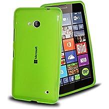 """Funda de GEL SILICONA para Microsoft Lumia 640 4G LTE (5"""" Pulgadas) nokia color VERDE - Envio por mensajeria URGENTE"""