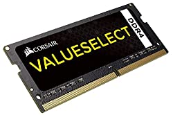 Corsair Memory Kit 4GB Module DDR4 2133MHz Unbuffered CL15 SODIMM 4 DDR4 2133