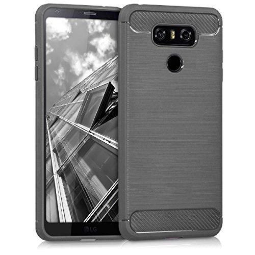 kwmobile LG G6 Hülle - Handyhülle für LG G6 - Handy Case in Anthrazit