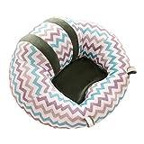 Bloomma bébé Canapé, Baby Sitting Chaise de bureau Chambre d'enfant protecteurs d'oreiller en peluche et coton PP Animal Taie d'oreiller support de siège Canapé pour 0–2ans bébé