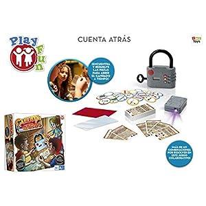 IMC Toys – Play Fun, Cuenta Atrás – Juego escape room para niños (98459)