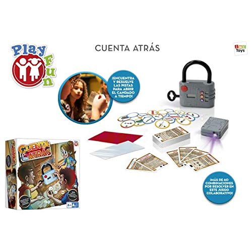 IMC Toys - Play Fun, Cuenta Atrás - Juego escape