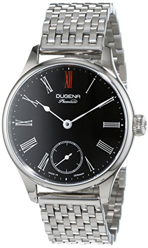 Dugena montre pour homme Epsilon 3analogique remontage manuel acier inoxydable 7090057
