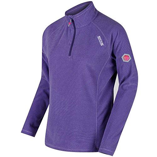 Regatta Womens/Ladies Montes Half Zip Lightweight Microfleece Top Half Zip Lightweight Pullover