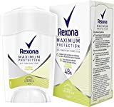 Rexona Maximum Protection Stress Control Anti-Transpirant, Damen Deo Cremestick, 3er pack (3 x 45 ml)