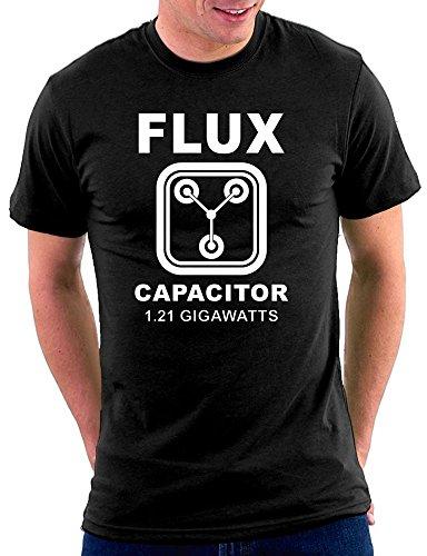 Flux Compensator T-shirt Schwarz