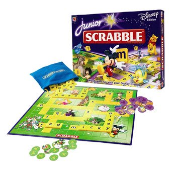 Junior Scrabble - Disney Edition by Mattel