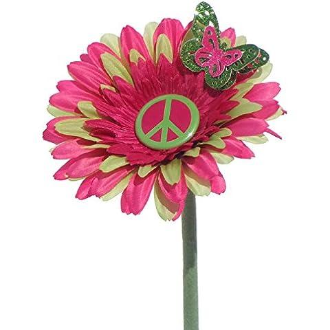 VW escarabajo flor–rosa y verde paz Daisy