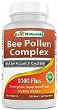 Best Naturals Bee Pollen Complex 1000 Mg 120 Tablets from Best Naturals