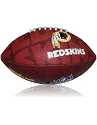 Wilson Football NFL Junior Washington Redskins Logo - Balón de fútbol americano ( infantil, caucho ) , color multicolor, talla 5