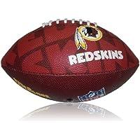 Wilson Football NFL Junior Washington Redskins Logo - Balón de fútbol americano (infantil, caucho), color multicolor, talla 5