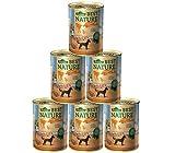 Dehner Best Nature Hundefutter Adult, Orient, Kalb und Wachtel, 6 x 400 g (2.4 kg)