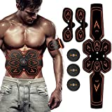ZHENROG Electroestimulador Muscular, Estimulador Muscular Abdominales,...
