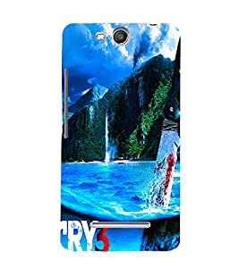 Perfect print Back cover for Micromax Canvas Juice 3 Q392