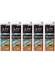 Mustad Ayaka 7gancho microkiller plumas Rig tamaño 6–5paquetes