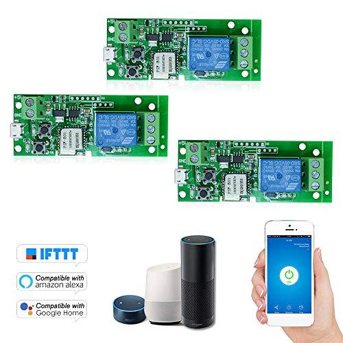 3 UNIDS eWeLink USB DC5V Interruptor WiFi Módulo