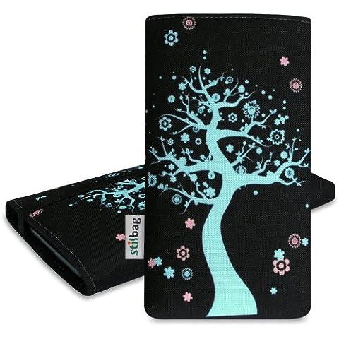 Stilbag 'MIKA'Custodia per Samsung Galaxy Ace 4, motivo: albero di Natale