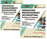 #5: Pooja Law Publishing's Advanced Management Accounting Problems & Solutions (AMA) for CA Final May 2017 Exam by CA. Sanjay Aggarwal [2 Vols. 2017 Edn.]