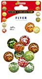 Kim'Play 9022 - Jeu de Plein Air et Sport - 10 Calots Flyer