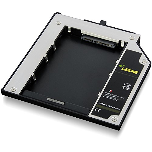Notebook-pata-festplatte (Leicke FA00137 Netzteil 2 HDD/SSD-Festplattenadapter für Lenovo)