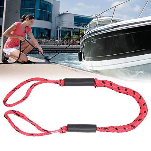 FOONEE Boat Dock Line 5ft, Festmacher für Boote mit Zwei Schaumstoff-Schwimmern, Dehnbare Bungee-Schnüre Ideal für Kajak, Jet-Ski, PWC, Wasserfahrzeuge, SeaDoo, Yamaha WaveRunner, Ponton -