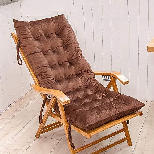 XXYY Herbst Und Winter Dick Verlängern Lounge Sessel Kissen Schaukelkissen Klappstuhl Bank Polster Klappstuhlkissen Sofakissen,150x48cm(59x19inch) - Vorteil Rollstuhl