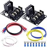 Quimat 2pcs MOSFET Impresora 3D / Extensión de Energía Para Carga de Alta Corriente QY08-02