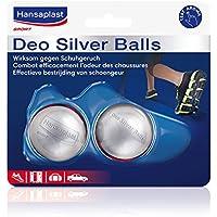 Hansaplast Deo Silver Balls Schuh-Erfrischer, Geruchsbeseitigung, 2er Pack (2 x 2 Stück) preisvergleich bei billige-tabletten.eu