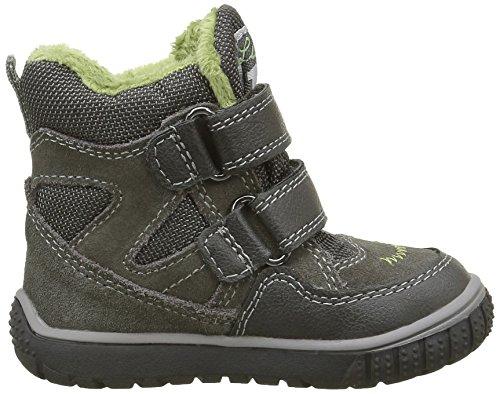 Lurchi Jaufen-Tex, Chaussures Marche Bébé Garçon Gris - Grau (Grey 45)