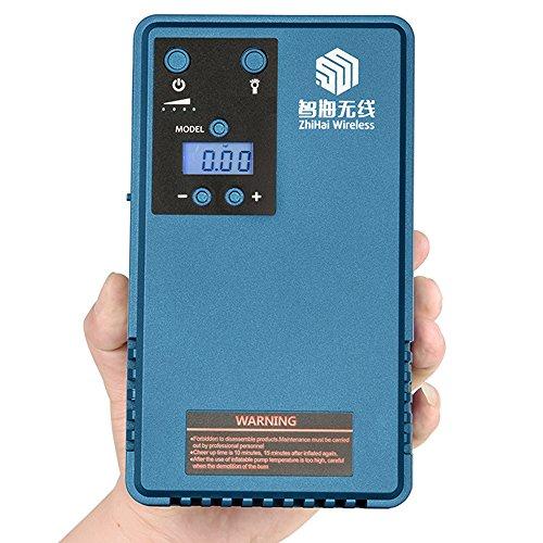 Reifen Luftdruck-Kompressor Pumpe&Car jump Starter , mobile Stromversorgung, LCD Reifendruck Manometer, Outdoor-Camping Licht, mit 10200mAh Akku, Spitzenstrom von 500A, max. Ausgangsdruck von 85PSI
