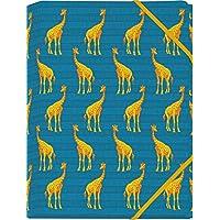 Die Tiere Afrikas  Mini-Sammelmappe - Motiv Giraffe