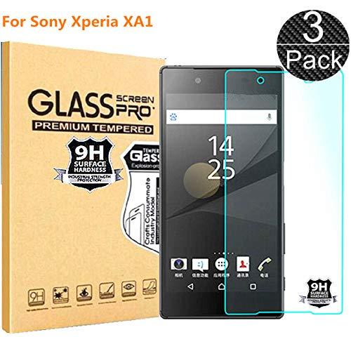 RUIST Sony Xperia XA1 Schutzfolien,Panzerglas Sony Xperia XA1,[3 Stück] Schutzglas Panzerschutz Folie Glas 9H [2.5D] Panzerfolie Glasfolie Displayschutz für Sony Xperia XA1