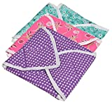 #2: Yellow Weaves™ Cotton Roti Cover/ Chapati Cover/ Traditional Roti Rumals ( Assorted Color & Design ) - Set of 3