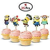 Party Propz™ Minion Cup Cake Topper set of - Best Reviews Guide